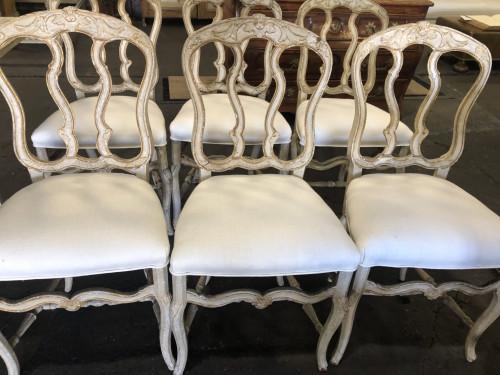 Antique Louis XV Style Italian Chairs - Tara Shaw