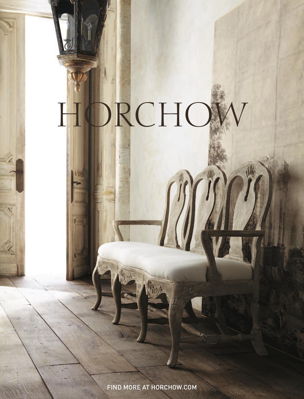 Horchow Catalog Feature