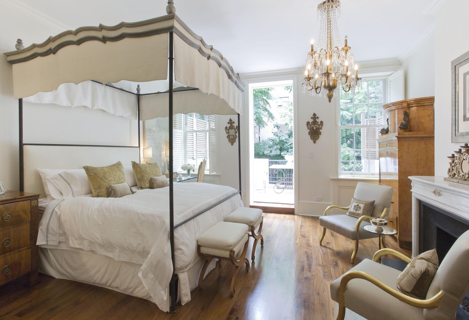 Tara shaw interior design bedroom new york brown stone for Tara louise interior decoration design
